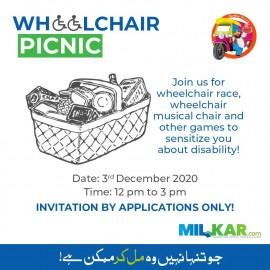 Wheel Chair Picnic