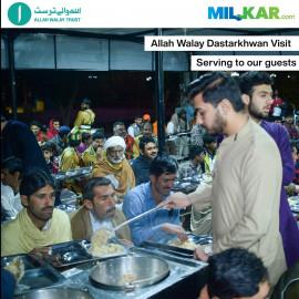 AWT Dastarkhwan Visit & Serving to People