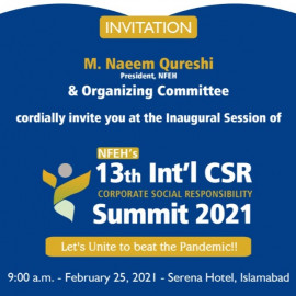 13th CSR Summit & Award 2021