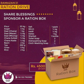 Ramzan rashan drive